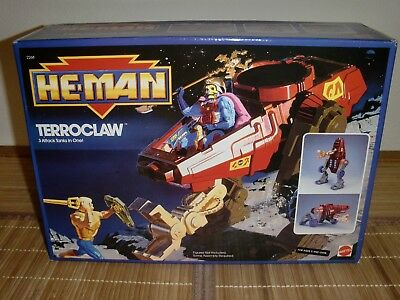 Terroclaw - He Man - New Adventures 1989 - MotU NA - 💥MISB💥