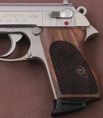 Walther PPK interarms made Walnut grip