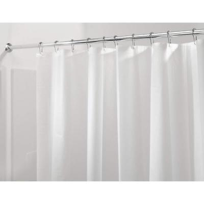 InterDesign Shower Curtain Liner PEVA Bathroom 80 x180 cm frost/clear Mould Free