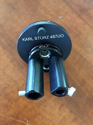 Karl Storz Turret Adapter for Storz Light Source Ref. 487UO