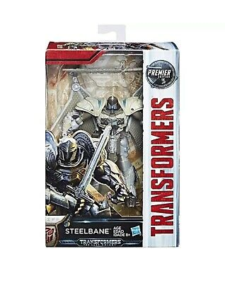 Hasbro Transformers Mv5 The Last Knight Deluxe Steelbane Premier Edition