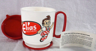 Vintage Elias Brothers Big Boy Advertising Collectible, Travel Mug, NEW!