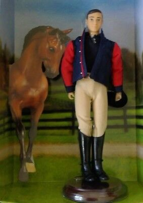 Collectable George H Morris Talking Action Figure the Chronicle of the Horse