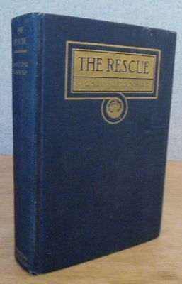 Joseph Conrad THE RESCUE, A ROMANCE OF THE SHALLOWS 1920