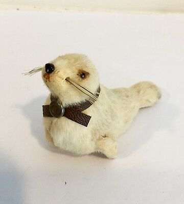 Kuntzlerschutz RARE Baby Seal Real Fur w Label Made in Germany
