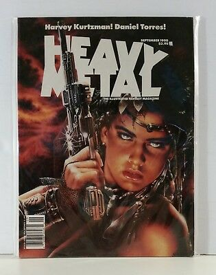 Heavy Metal Magazine Volume 14 #4 September 1990 Royo Brero Kurtzman Stout