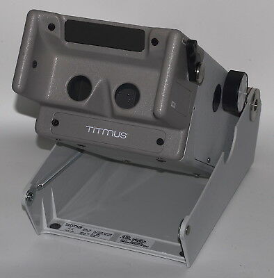 Titmus 2s Vision Screener with School Slide Set 85024 *Used, Powered-On* 06205