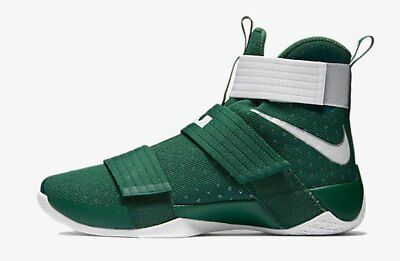 new styles b8db9 4a762 25 NIKE LEBRON James Soldier 10 TB Mens Spartan Green White ...