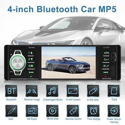 SWM 4'' Double 2 Din Car Stereo MP5 Player Bluetooth USB AUX FM Radio Head Unit