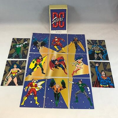 DC STARS (SKYBOX/1994) A WAL-MART EXCLUSIVE COMPLETE Card Set w/ PUZZLES &  FOILS