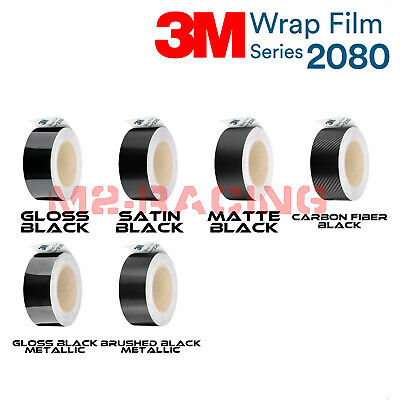 *3M 1080 Black Vinyl Wrap Kit for Black Out Chrome Delete Window Trim Door Trim
