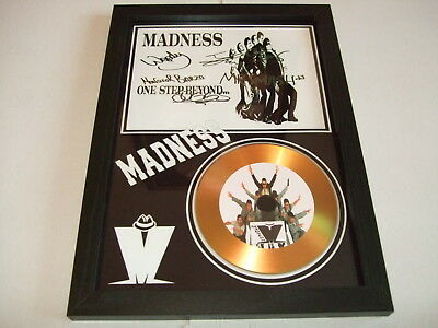 madness    SIGNED   GOLD   DISC  1