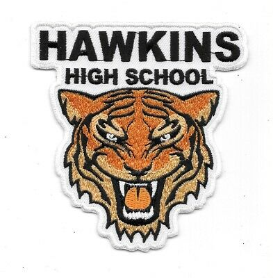 Stranger Things TV Series Hawkins High School Logo Embroidered Patch NEW UNUSED