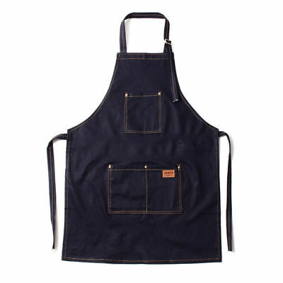 Professional Zean Hairdressing Barber Apron Cape Barber Hairstylist Blue