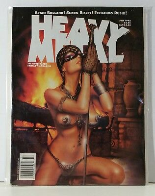 Heavy Metal Magazine Volume 16 #2 July 1992 Peleaz Rubio Lee Cunningham Kuper