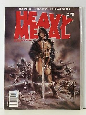 Heavy Metal Magazine Volume 16 #7 May 1993 Royo Boucq Giardino Miralles Segura