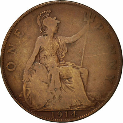 1911-1936 One Penny Coin - George V.  Choose Your Date!     One Coin/Buy!   Sep