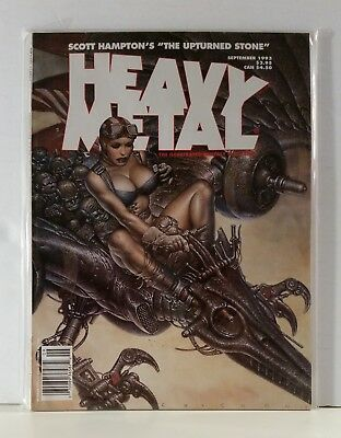 Heavy Metal Magazine Volume 17 #4 September 1993 Chichoni Clave Retif Eastman