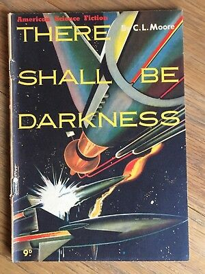 1950's Australian pamphlet American SF Series - There Shall Be Darkness - Moore