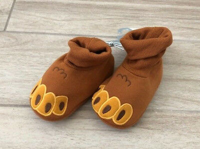 Disney Store Beauty & The Beast Baby Booties Shoes Costume 18-24 Months NWT