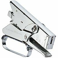 Arrow P35 Heavy Duty Plier Stapler, 1/4 in, 3/8 in L Leg, 2-1/2 in D Throat, Fla
