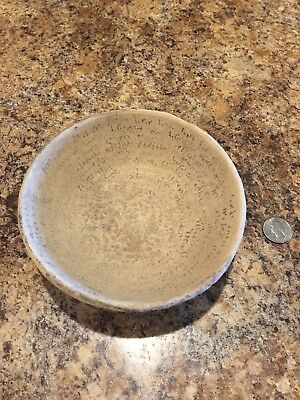 Authentic Incantation Bowl/Demon Trap Bowl 600 AD in Aramaic