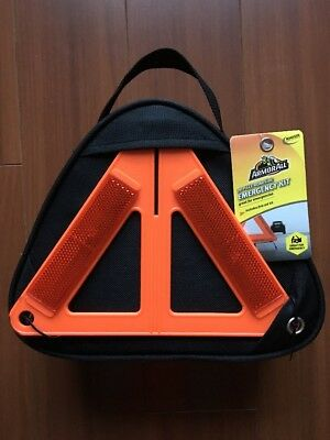 Armor All 78 Piece Roadside Emergency Kit Great For Emergencies W/ First Aid Kit