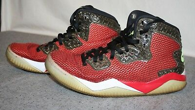 new styles ef4f7 e1031 Nike Air Jordan Spike Forty Mars Red Black Men s 12 Basketball Shoes  819952-605