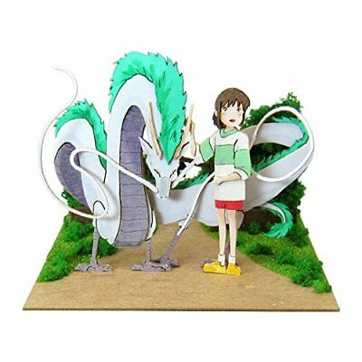 SANKEI Studio Ghibli mini Spirited Away Haku Dragon Chihiro MP07-75 Paper Craft