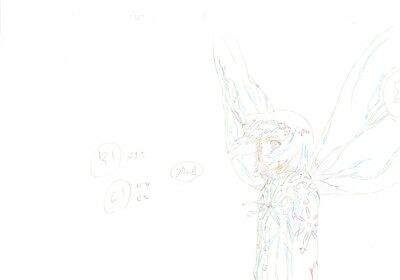 Anime Genga not Cel Tokyo Ghoul 3 pages #11