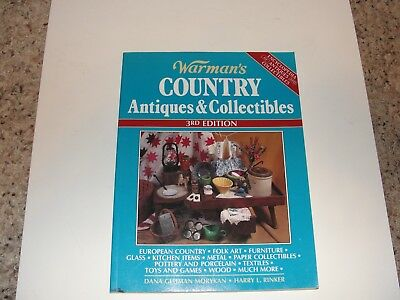 Warman's Country Antiques and Collectibles  3rd Edition