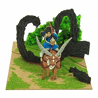 SANKEI Studio Ghibli mini Princess Mononoke Ashitaka Damon MP07-41 Paper Craft