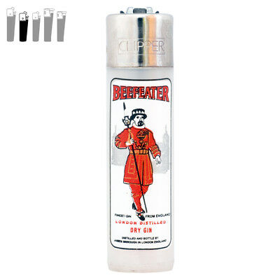 Clipper Lighters - Classic Range - Flint Pocket - Beefeater London Dry Gin
