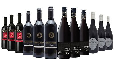 AU Favorite Delightful Shiraz Red Wine Mixed 12x750ml Free Shipping