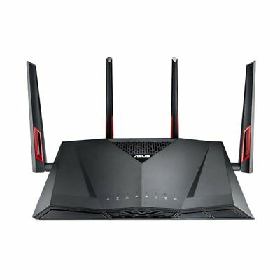 ASUS RT-AC88U 2.4G & 5G Dual-Band Gigabit Wireless Router with 4 Aerials BB