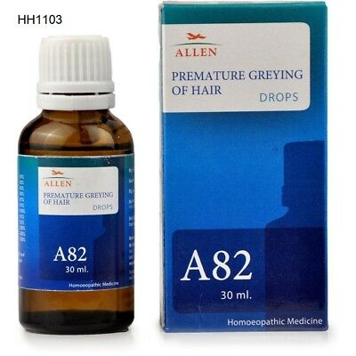 Allen A82 Premature Greying OF Hair Drop 30 ml
