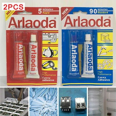 Araldite Epoxy Klear Glue 2 Part With Resin & Hardener 5/90 Minute Setting UK
