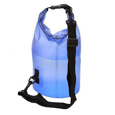 10L/15L /20L Waterproof Dry Bag Canoe Floating Rafting Boat Kayak Hiking BS