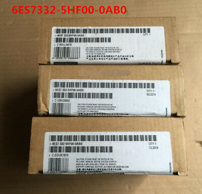 Siemens 6Es7332-5Hf00-0Ab0 6Es7 332-5Hf00-0Ab0 New In Box