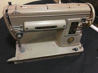 VINTAGE SINGER SEWING Machine Singer 40 Not 40A For Parts Classy Singer Sewing Machine Model 301a Value