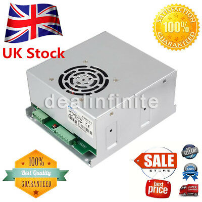 50W PSU CO2 Laser Power Supply for 50W Laser Tube Engraving Cutter Machine UK