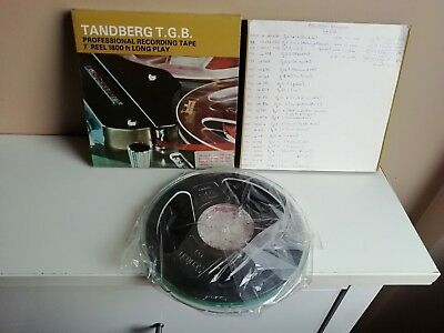 Boxed Reel to Reel Tapes Magnetic Tapes Scotch Tandberg BASF Emitape Bundle