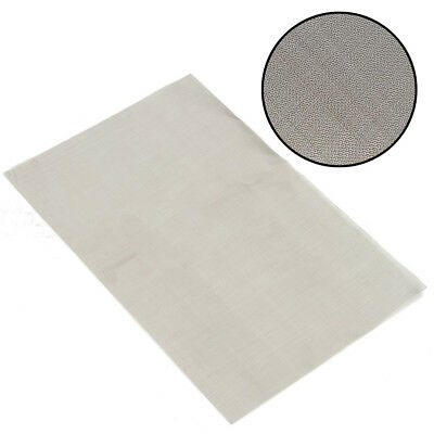 Stainless Steel 30cm*20cm 180 Micron Mesh Woven Wire Cloth Screen Filter Sheet