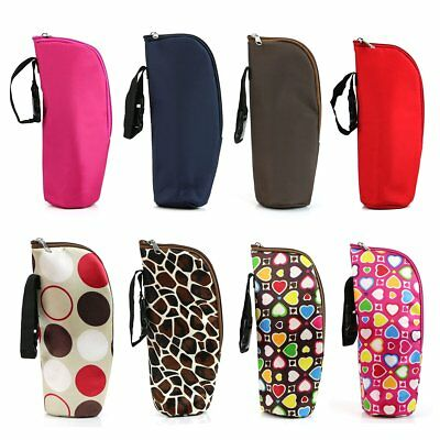 Portable Baby Bottle Warmer Thermal Kids Feeding Milk Bag Insulation Bag Pouch