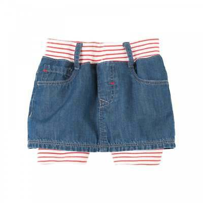 Levis Infants Skirt And Short Legging Set (Blue / White / Red)