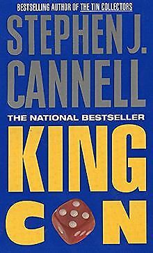 King Con: A Novel by Stephen J. Cannell | Book | condition acceptable
