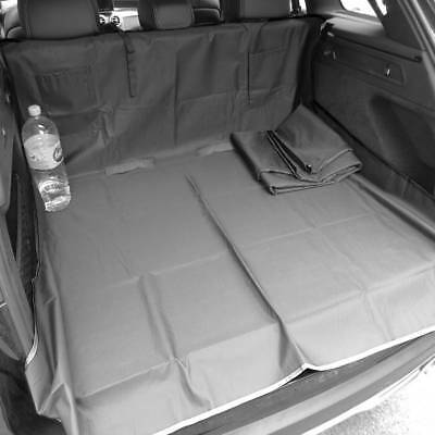 DELUXE BLACK BOOTLINER REARSEAT PROTECTOR for VAUXHALL AGILA (09-11)