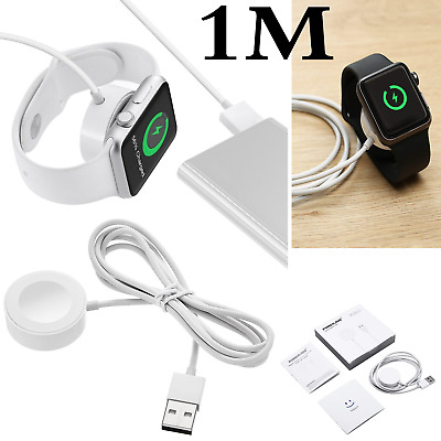 NEW Apple Watch iWatch Magnetic USB Wireless Charger Charging Cable/Cord Dock