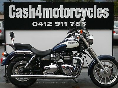 Triumph America 2008 Model Rides As/new Only $5990