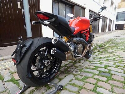 2015 Ducati Monster M1200 S Ohlins Carbon 7797 Miles One Lady Owner London W9